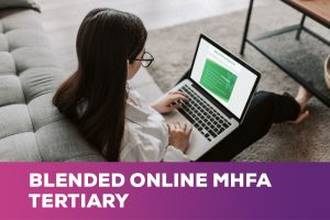 Blended Online MHFA for Tertiary