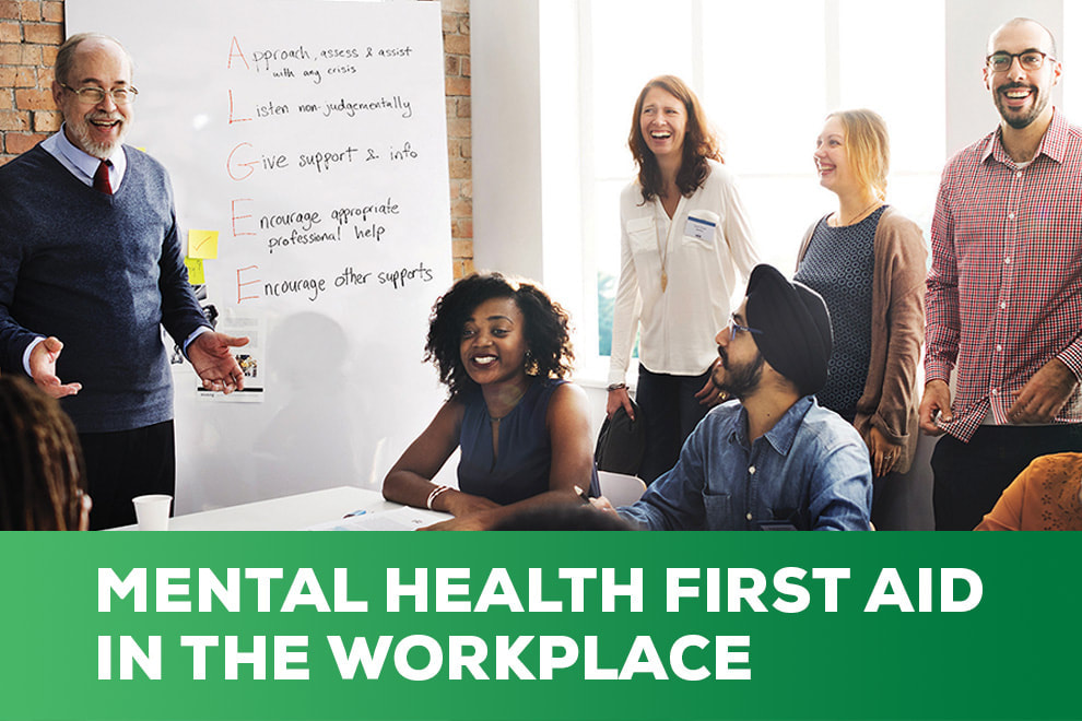 Blended MHFA for the Workplace