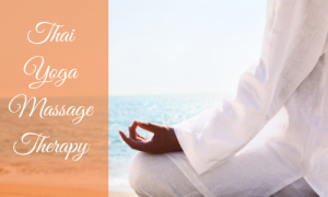 Thai yoga massage therapy