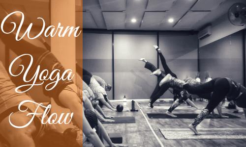 Warm yoga Flow Class Glen Osmond